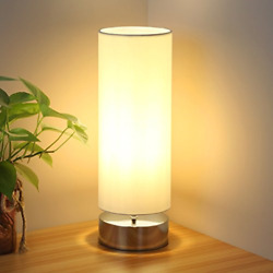 Touch Control Table Lamp Bedside Minimalist Desk Lamp Modern Accent Lamp Dimm... $42.20