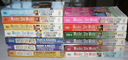 13 Murder She Wrote book lot Jessica Fletcher & Donald Bain