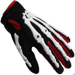 Ghost Claw Bicycle Skeleton Gloves Motorcycle Outdoor Sports Equestrian Ting1 $34.72