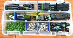 DELPHI WEATHER PACK CONNECTOR MINI KIT 16 14 WS 102 PIECES WEATHERPACK $33.95