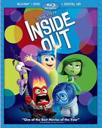 Inside Out [Blu-rayDVD Combo Pack + Digital Copy] $6.49