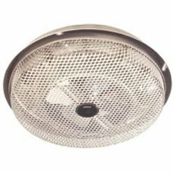 Broan Electric Radiant Ceiling Heater Low Profile Enclosed Sheathed Aluminum $47.99