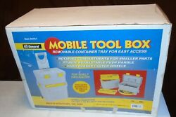 BRAND NEW Rolling Mobile Tool Box WStorage US GENERAL 03761 Harbor Freight  $59.90