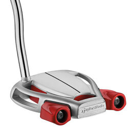 New Taylormade Spider Tour Platinum Putter - Choose Length - Superstroke Grip $120.99