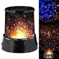 LED Star Starry Sky Galaxy Projector Night Lamp Cosmos Light Kid Room Decor US $8.78
