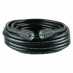 50Ft 3200PSI High Pressure Washer Hose-14-Inch Dia M22 Connector Free Shipping $19.28