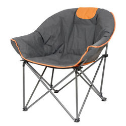 Folding Camping Chair Picnic Beach Outdoor Portable Seat Carry Bag Saucer Chair $64.99