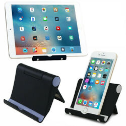 Universal Foldable Cell Phone Desk Stand Holder Mount Cradle For iPhone Tablet $4.28