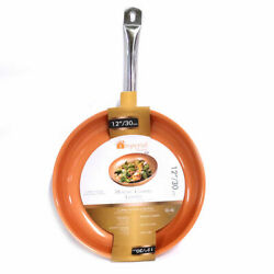 Imperial Home 12-inch Copper Non-Stick Fry Pan $16.99