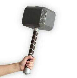 1:1 Thor Hammer Replica Mjolnir Prop 17quot; Long Foam Base for Avengers Cosplay Toy $29.99
