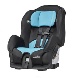 EVENFLO TRIBUTE LX COVERTIBLE CAR SEAT NEPTUNE *DISTRESSED BOX $74.99