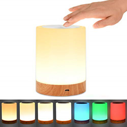 Table lamp Comkes Touch Sensor Bedside lamp with Dimmable Warm White Light  $29.64