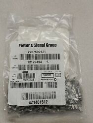 14-12 Ga. Unsealed Female Metri-Pack 280 Series Terminals 12129494-L Loose 200EA $20.00