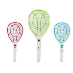 Mosquito Swatter USB Rechargeable Electric Flies Insect Killer Bug Zapper Racket $17.99