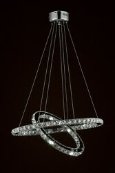 Crystal Elipse Ring Chandelier LED Chandeliers Modern Contemporary Lighting $299.00