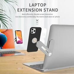 Mount Phone Bracket Connects Holder Screen Side Stand For Multi Support Laptop $20.22