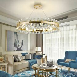 Crown Crystal Chandelier Lights With E14 LED Perfect For Villa Living Room Lamp $309.26