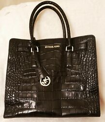 Michael Kors Women Leather Black Handbag Purse Bag Bags EXCELLENT CONDITION $140.00