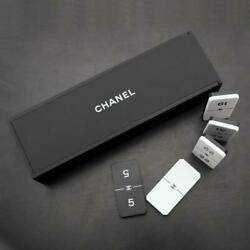 CHANEL Domino Dominos Game Novelty for VIP Customers GIFT Hard to Find Item USED $249.99
