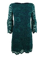 Jessica Howard Women#x27;s Bell Sleeve Lace Dress $32.99