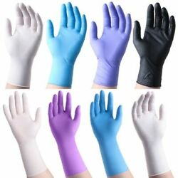 Gloves  10 -20 -50 -100 Pcs Nitrile  Vinyl  Latex ( Powder - Free ) Up to15% Off $24.95
