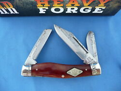 Rough Rider Heavy Forge Stockman Knife Smooth Bone RR1977 $19.50
