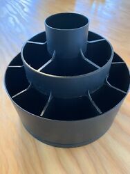 PAMPERED CHEF TOOL TURN ABOUT BLACK CAROUSEL UTENSIL DESK CADDY VGC  $11.50