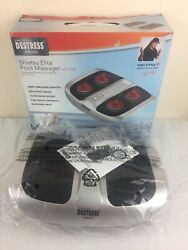 New Tony Little's Destress Shiatsu Elite Foot Messager With Heat! New Open Box $29.99