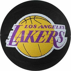 Los Angeles Lakers Spalding NBA Mini Rubber Basketball Size 3 22 inch $14.95