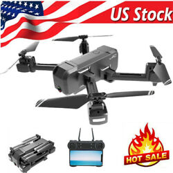 KF607 Wifi FPV Drone w Camera 1080P Foldable Altitude Hold RC Quadcopter US I5D6 $56.41