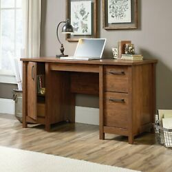 Computer Laptop Desk With Drawers Hutch Table Home Office Furniture Workstation $352.99