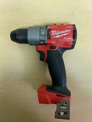 MILWAUKEE FUEL 2804 20 18V 1 2quot; CORDLESS BRUSHLESS HAMMER DRILL M18 W HANDLE $84.99