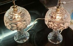 Bleikristall 24 lead crystal Lamps $150.00
