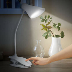 14LED Clip on Reading Light Flexible Lamp Table Study Bed Laptop Desk LED Clamp $14.56