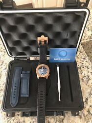 H2O HELBERG CH8 1000M BRONZE AUTOMATIC DIVE WATCH - FULL KIT - STUNNING  $440.00