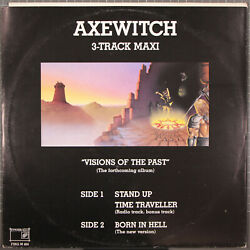 Axewitch 3 Track Maxi 12quot; Visions of the Past Finger Print FING M 404 NM Sweden $14.99