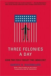 Three Felonies a Day: How the Feds Target the Innocent Paperback or Softback $16.09