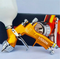 Lisson 1.3mm TE20 Gold Nozzle Tool Pistol Spray Gun Paint Cars $79.90