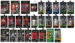 Star Wars The Black Series 6quot; Action Figure 49 Variations to Choose 11 27 2020 $34.95