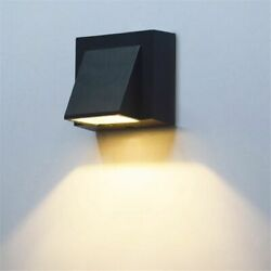 Modern Simple Creative Outdoor Waterproof Wall Lamp Led Garden Wall Light $21.61
