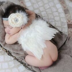 Angel wings baby photography props with Headband $9.99