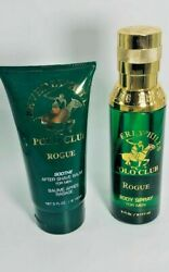 Beverly Hills Polo Club Rogue For Men 6oz Body Spray 5oz After Shave Balm $21.99