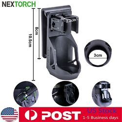 NEXTORCH 360° Belt Tactical Flashlight Holster Pouch Angle Holder For 1quot; 1.25quot; $19.94