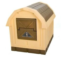 ASL Solutions Insulated Raised Floor Plastic Large Dog House Palace with Door $249.99
