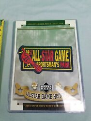 Upper Deck 2003 Patch Collection 1957 All Star Game St Louis Cardinals Night $24.99