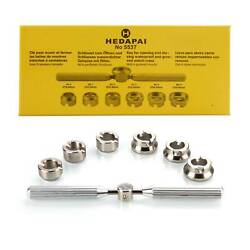Watch Back Case Opener Remover Repair Tool Set For Rolex Tudor Kits Accessories $22.99