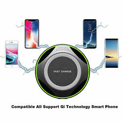 Super Fast Wireless Charger Portable Pad for iPhone and For Android Phones. $8.95