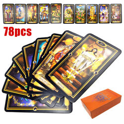 78pcs Tarot Deck Cards Guidance of Fate Playing Game Card US Stock $11.98