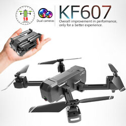 KF607 Wifi FPV Drone Camera 1080P Foldable RC Quadcopter Xmas 2 Batteries H3A3 $64.19