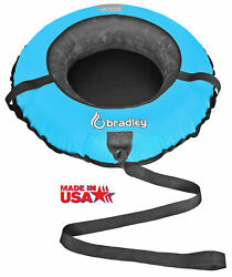 Bradley Kids Snow Tube with 42quot; Heavy Duty Cover Tow Leash Made In USA $69.00